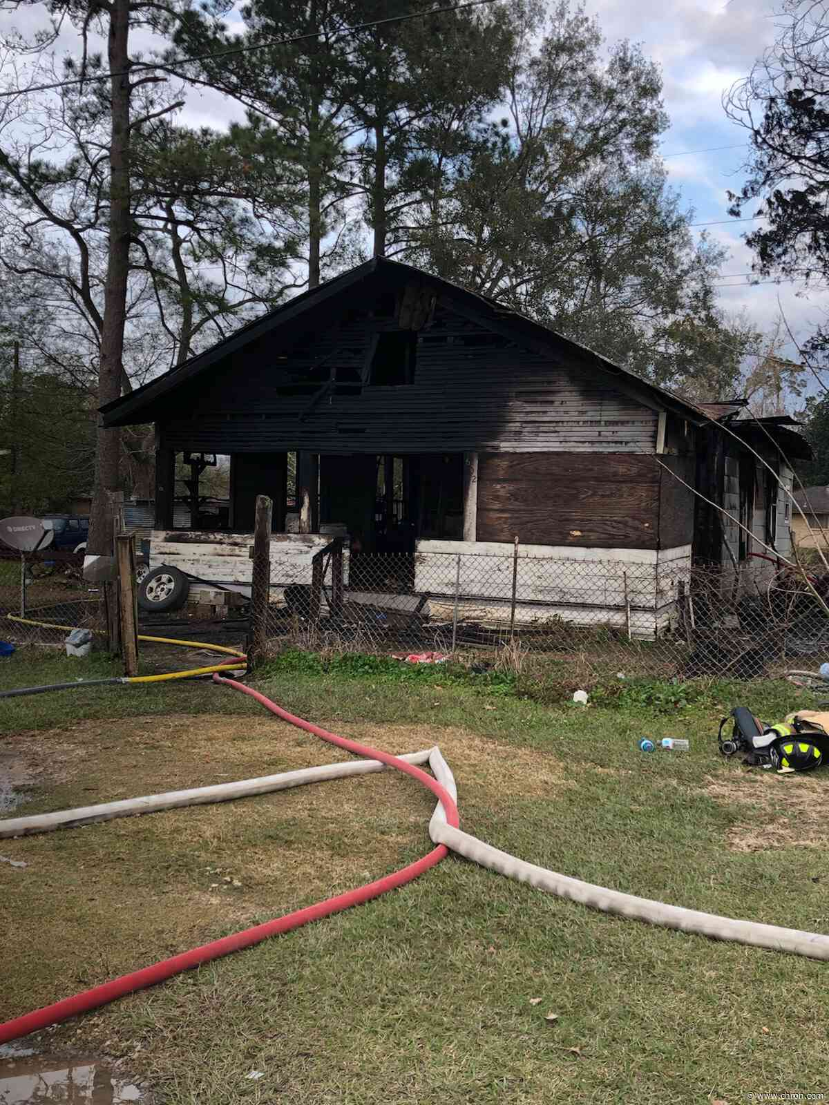 House fire in Liberty County kills mother, daughter