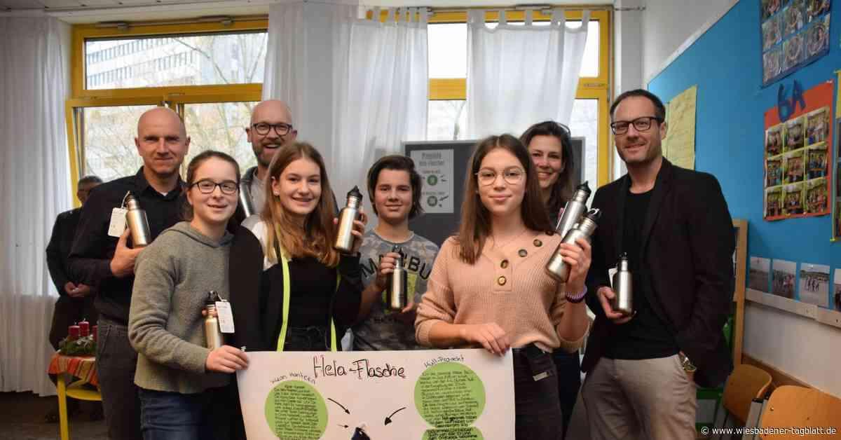 Helene-Lange-Schüler sammeln 140 Kilo Müll