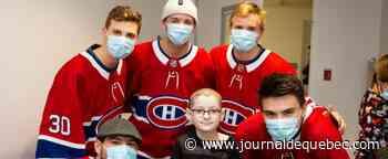 Tournée des hôpitaux du CH : un sourire à la fois