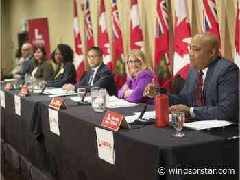 Photos: Ontario Liberal leadership candidates hold debate