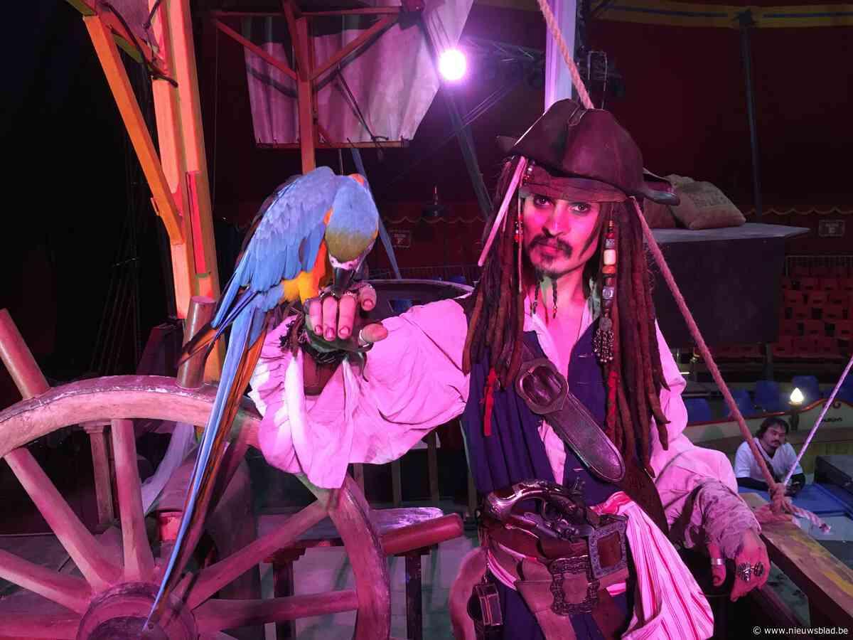 26 keer Captain Jack (Sparrow) in Circus Boxtalino in De Schorre