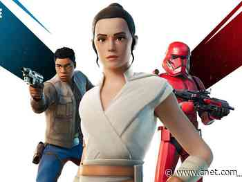 Star Wars' Rey and Finn Rise of Skywalker skins now available in Fortnite     - CNET