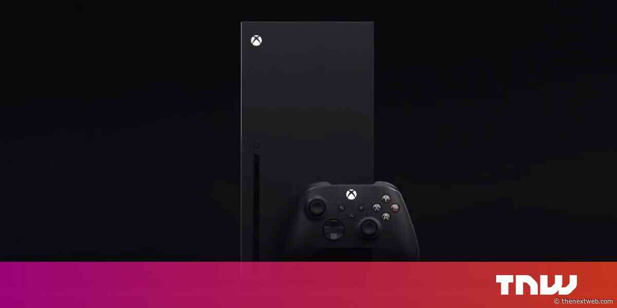 Microsoft reveals the Xbox Series X, its next-gen console