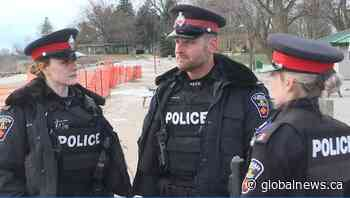 Durham Regional Police officers praised after freezing Lakeview Park water rescue