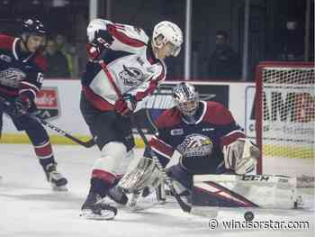 Spirit score on a penalty shot in overtime to beat Spitfires 4-3