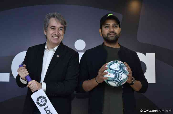 La Liga brings on Rohit Sharma as brand ambassador as Indian football wakes up