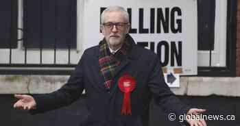 U.K. Labour leader Corbyn says he won't lead party into future election as defeat looms