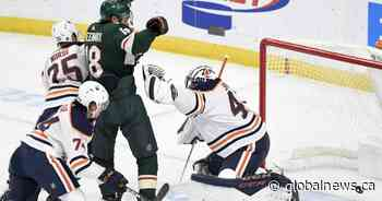 Edmonton Oilers rally in third but lose to Minnesota Wild