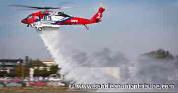 San Diego Fire-Rescue unveils $20 million helicopter to fight wildfires