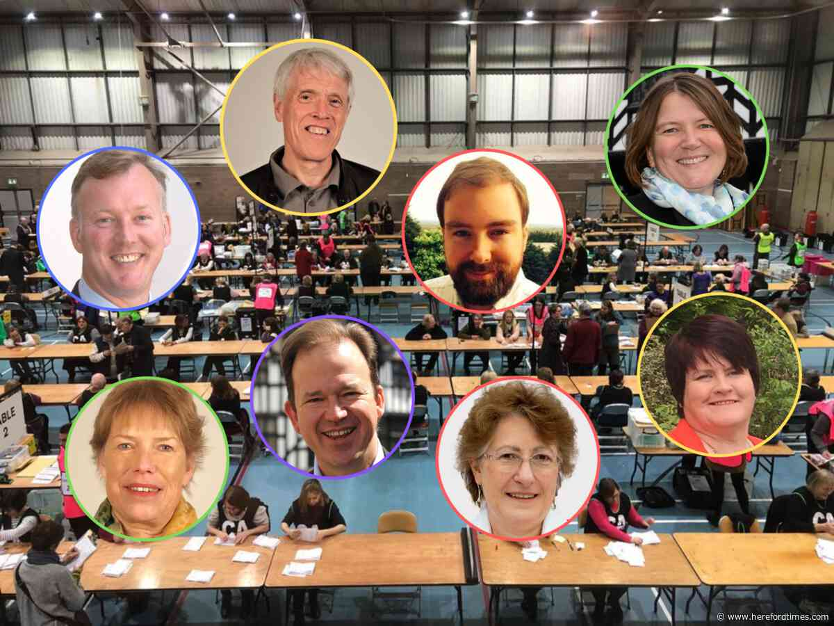General election 2019: Conservatives HOLD Herefordshire seats