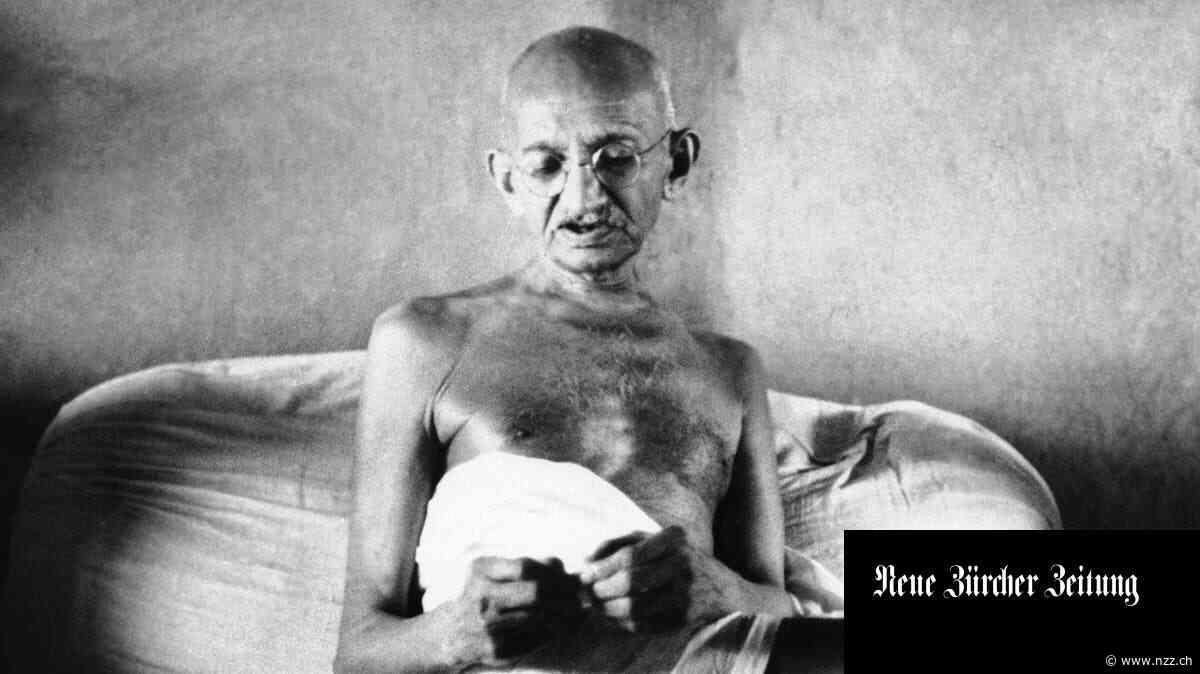 Gandhis strengster Kritiker war er selbst. Davon zeugt seine Autobiografie