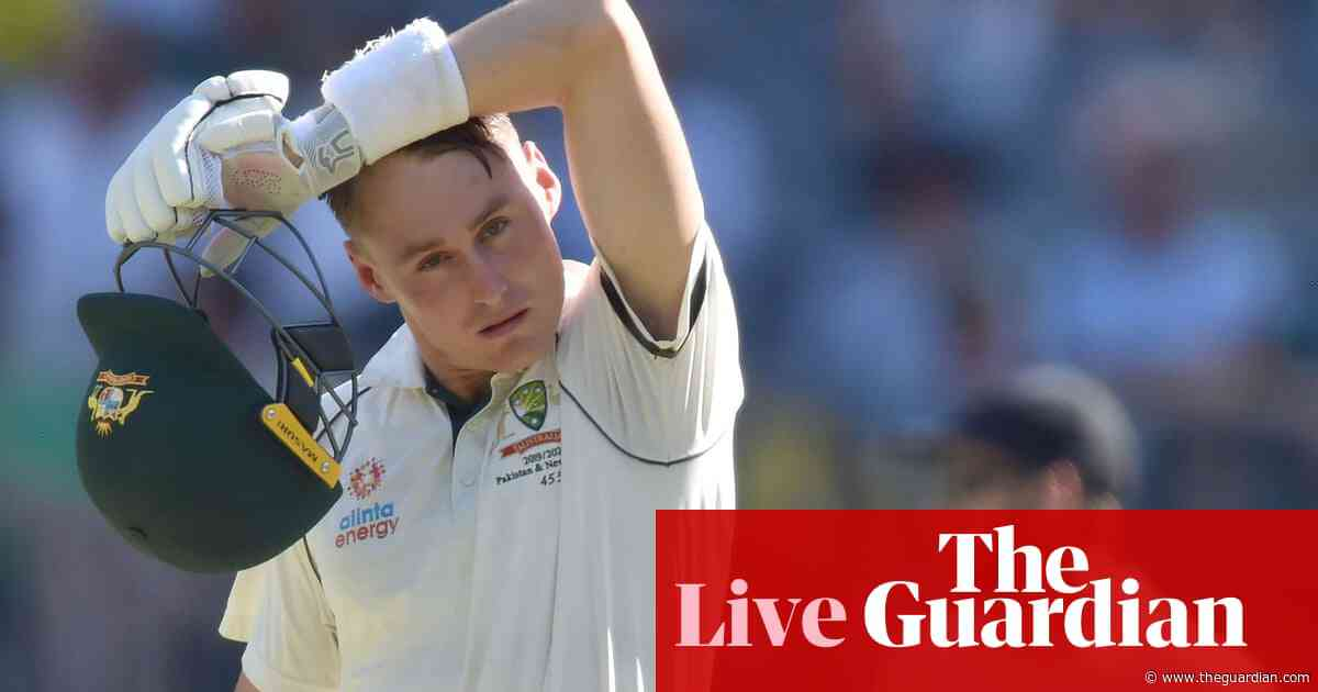 Australia v New Zealand: first Test, day two – live!