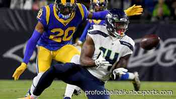DK Metcalf living up to Seahawks expectations in leading rookie receivers in catches, yards