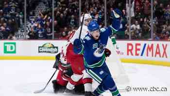 Pettersson, Markstrom lead Canucks to OT victory over Hurricanes