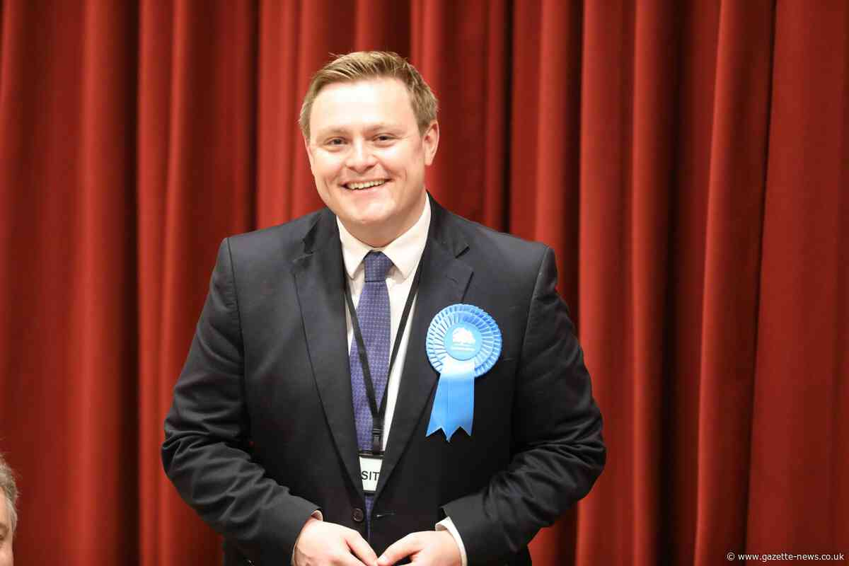 Conservative Will Quince re-elected as MP for Colchester