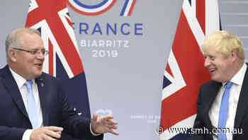 'Say g'day to the quiet Britons for us': Morrison