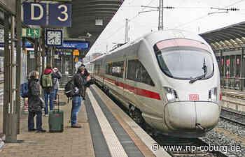 Ab Sonntag: Mehr ICE-Halte in Oberfranken