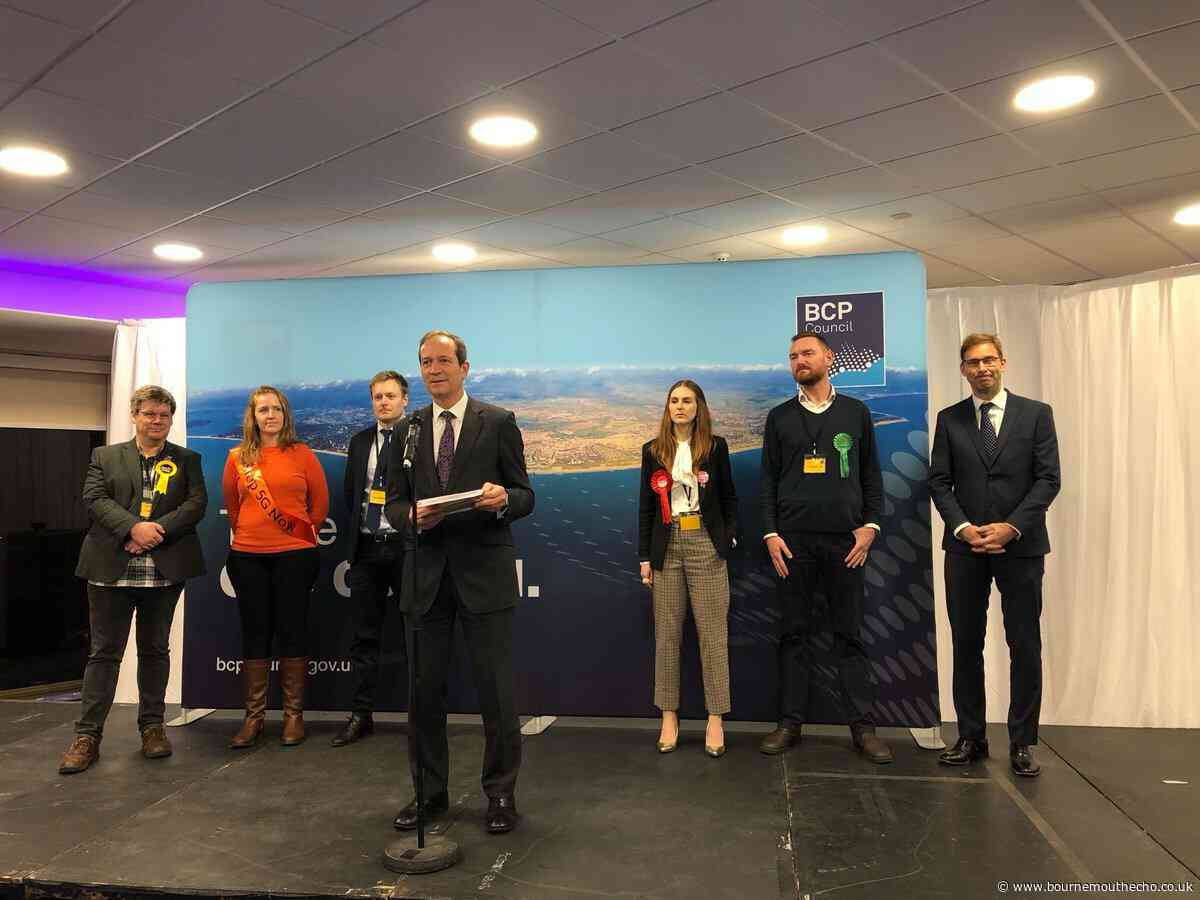Conservatives Conor Burns and Tobias Ellwood retains their seats in Bournemouth