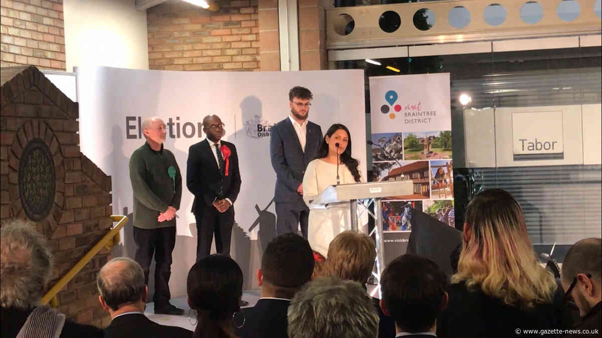 Priti Patel issues rallying cry after holding onto Witham seat in General Election