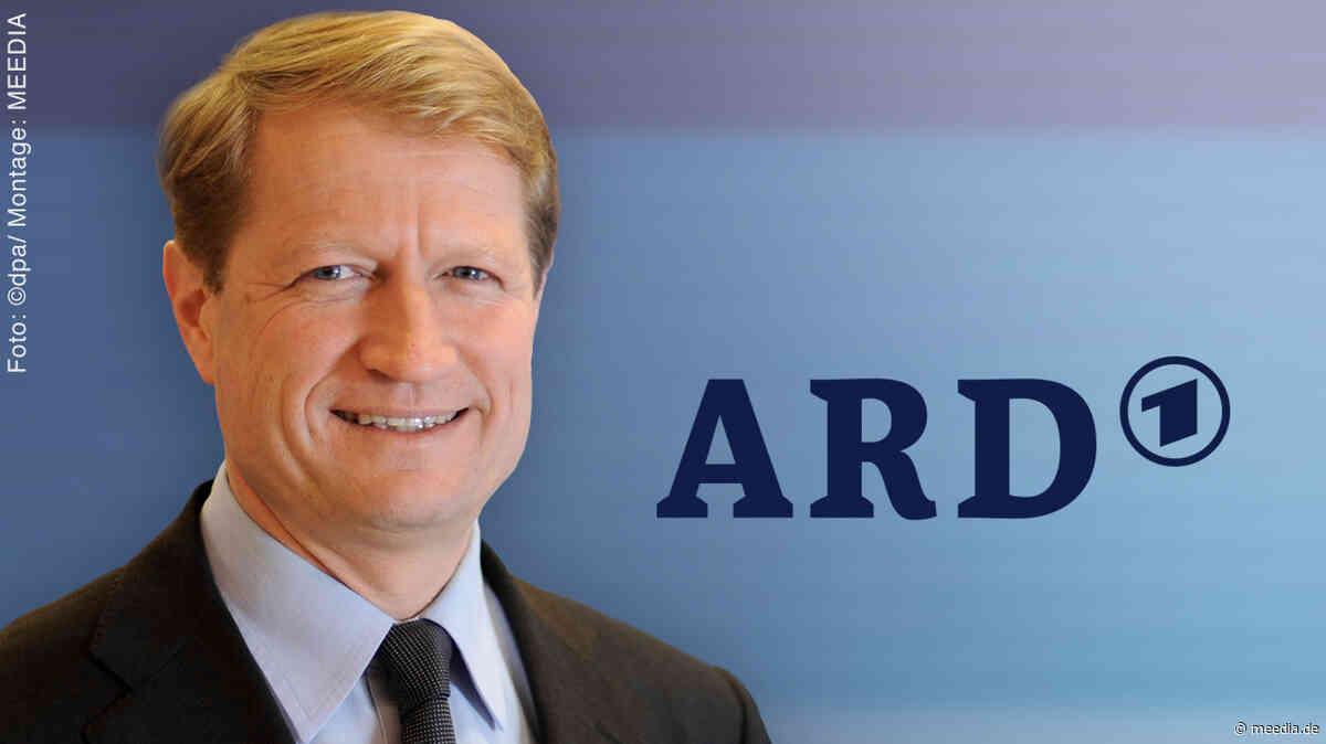 """ARD-Vorsitzender Ulrich Wilhelm: Europäische Medienplattform """"ein sehr dickes Brett"""""""