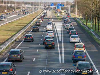Bijna 6,1 miljard euro aan wegenbelasting in 2020