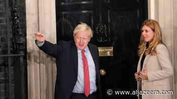 Transcript: Boris Johnson's election victory speech in full