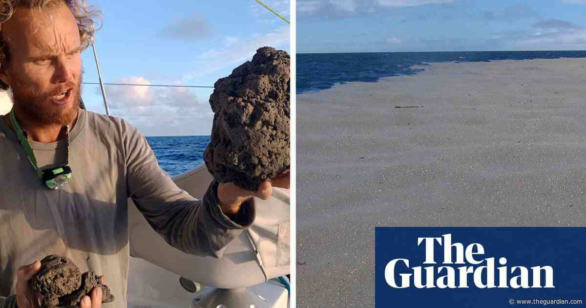 What became of the great Pacific pumice raft?