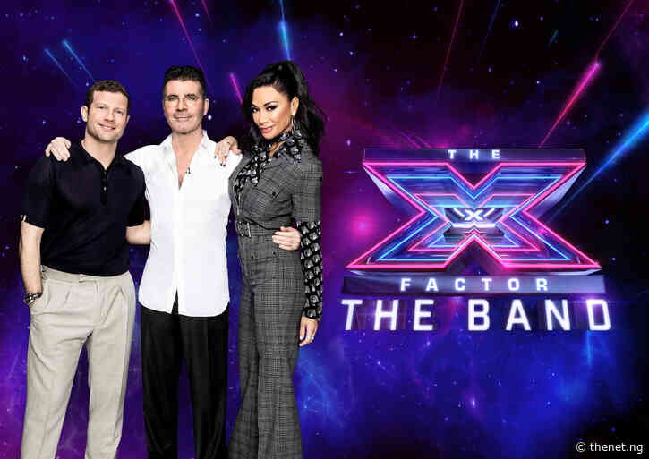 It's Girls vs Boys As Simon And Nicole Go Head-To-Head On The X Factor: The Band