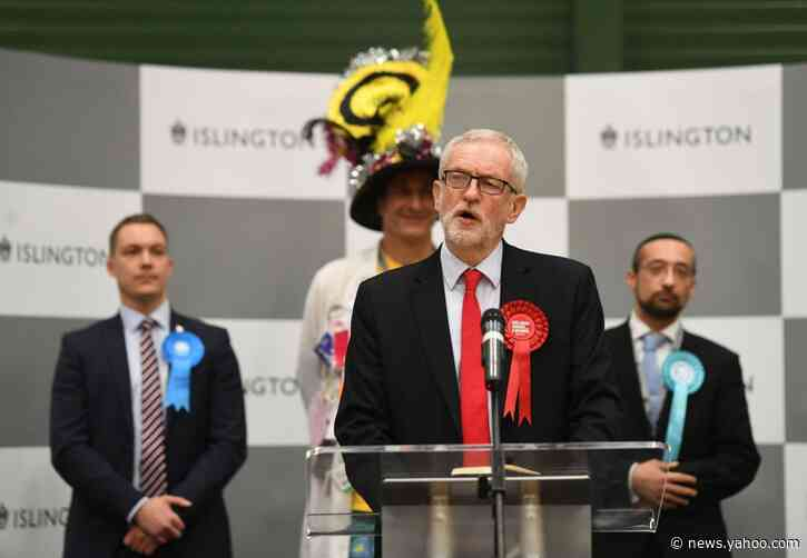 Corbyn to Stand Down as U.K. Labour Party Faces Record Defeat