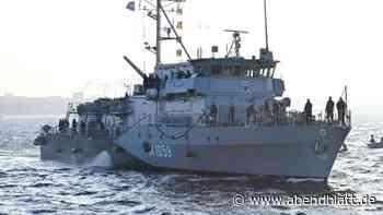 Schifffahrt: Minenjagdboot zurück von Einsatz unter Nato-Kommando