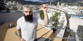 PHOTOS. Sébastien Chabal inaugure une station de sport en plein air et connectée à Monaco