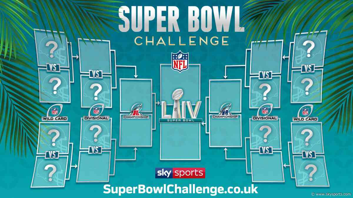 Predict the NFL playoffs and Super Bowl winner!