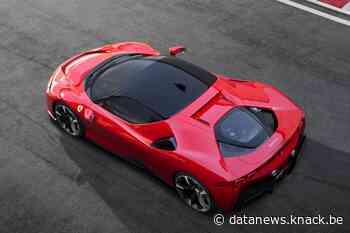 Ferrari schuift volledig elektrische wagen op de lange baan