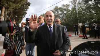 Algeria declares ex-PM Tebboune winner of presidential election