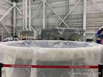 Boeing Shows Off 1st Starliner Destined to Carry Crew to Space