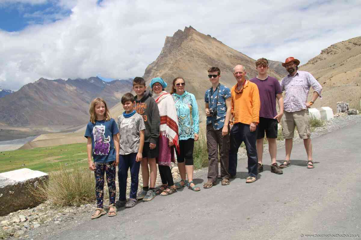 The theatre company taking their show from Bournemouth... to the Himalayas