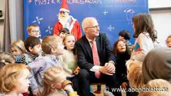 Musik: Fröhliche Weihnachtsgrüße vom Bürgermeister an Kinder
