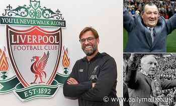 Jurgen Klopp will be Liverpool's longest-serving manager since Bob Paisley