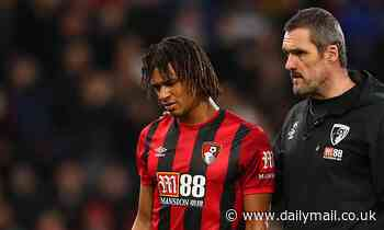Bournemouth manager Eddie Howe confirms Nathan Ake will be out for six weeks