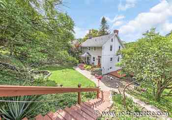 Buying Here: Rosslyn Farms house has original details, a waterfall and $209,000 price tag