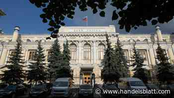 Geldpolitik: Russische Zentralbank senkt erneut die Zinsen
