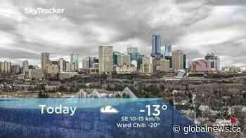 Edmonton early morning weather forecast: Friday, December 13, 2019