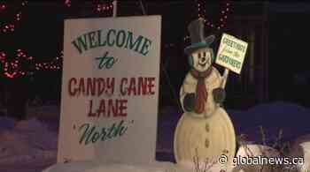 Our YEG at Night: Candy Cane Lane a classic holiday attraction in Edmonton