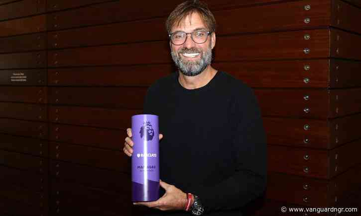 Jurgen Klopp Named Premier League Manager of the Month for November