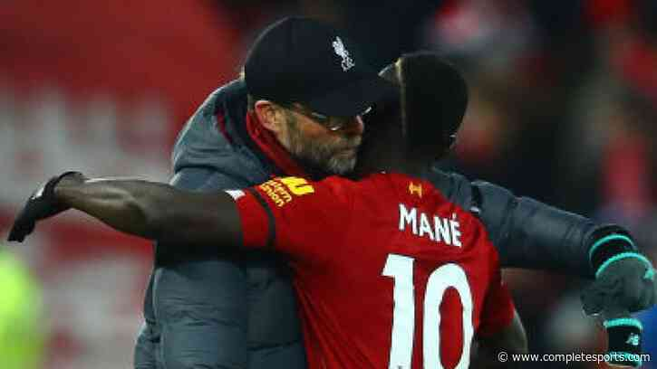 Mane, Klopp Win November Player, Manager of The Month Award