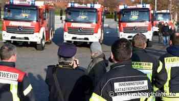 Katastrophenschutz: 52 Katastrophenschutz-Löschfahrzeuge für Schleswig-Holstein