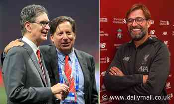 Liverpool owners express delight as 'best there is' Jurgen Klopp extends contract until 2024