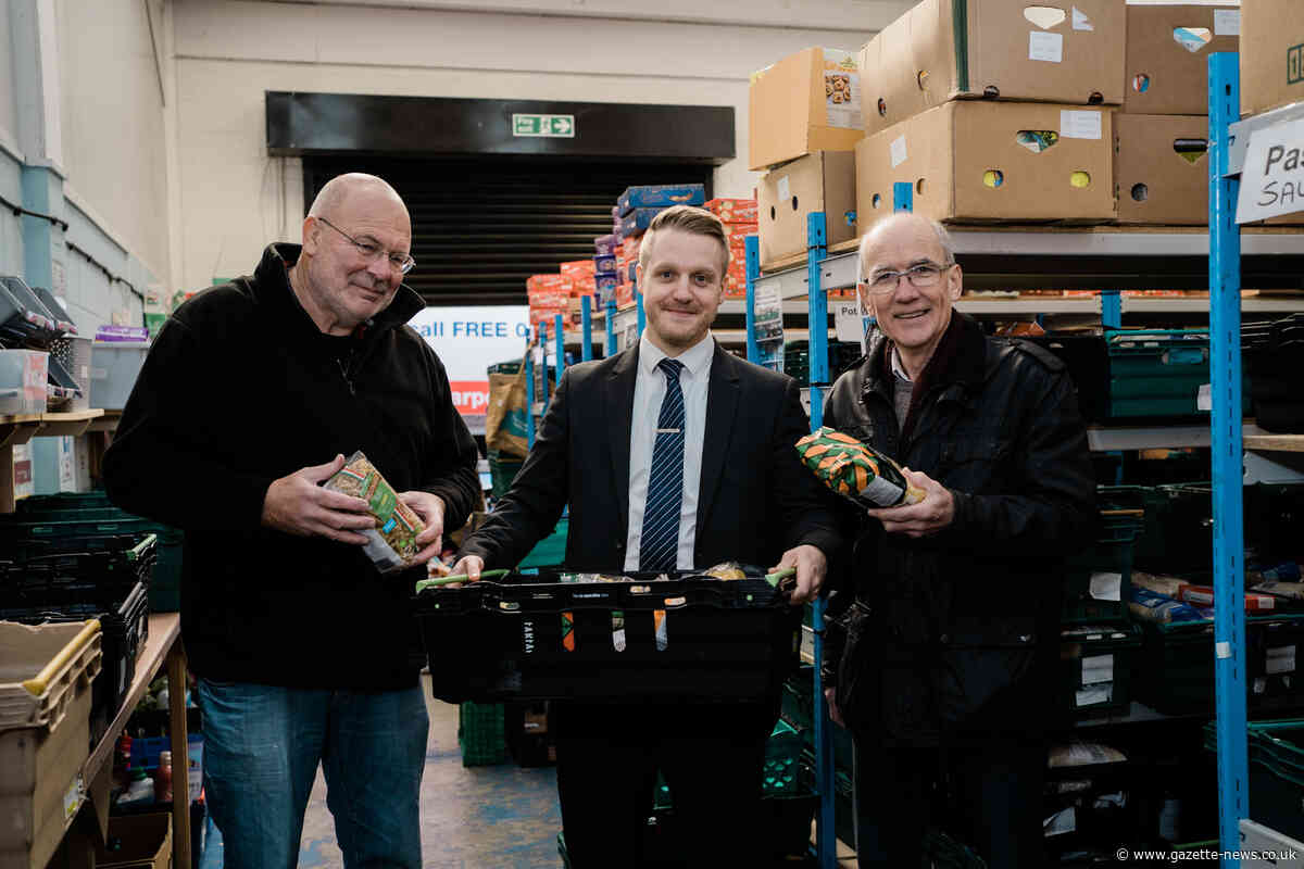 Attwells Solicitors donate to Colchester Foodbank