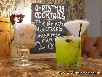 Mixologists at Blind Pig Heswall and West Kirby create seven new cocktails with festive twist