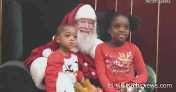 Malls opening early so kids with autism can visit Santa in calmer environment